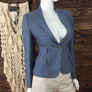 Zara Woman | Blazer Jacket Faux Pockets Patch